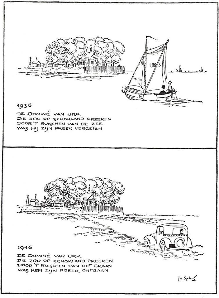 De Dominé van Urk Afkomstig: Elseviers weekblad 11 mei 1946