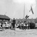 31 mei 1945, bevrijdingsfeest te Emmeloord.