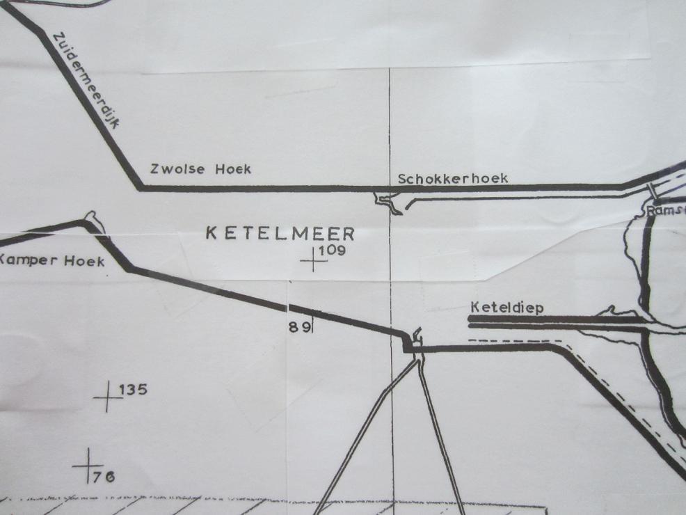 Locatie jaar 1943-1966 Ketelmeer