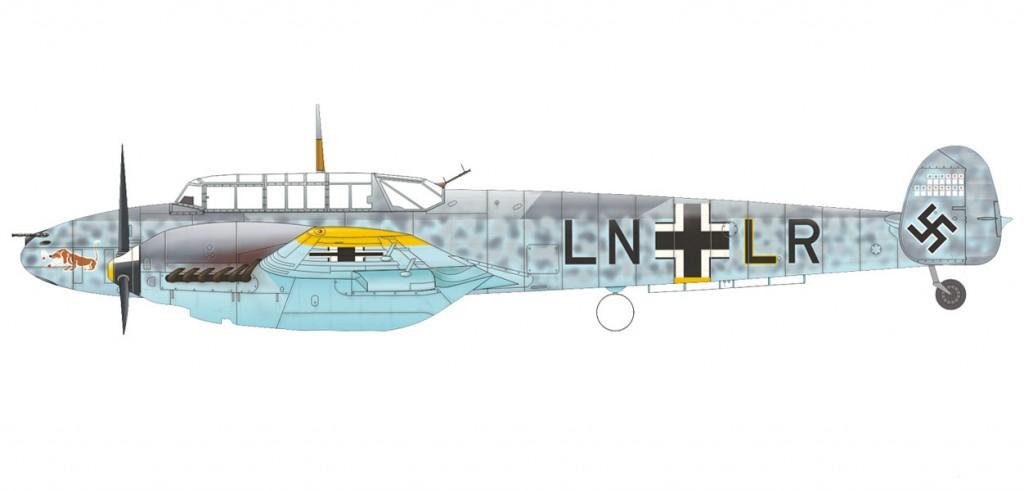 MesserschmittBf-110E