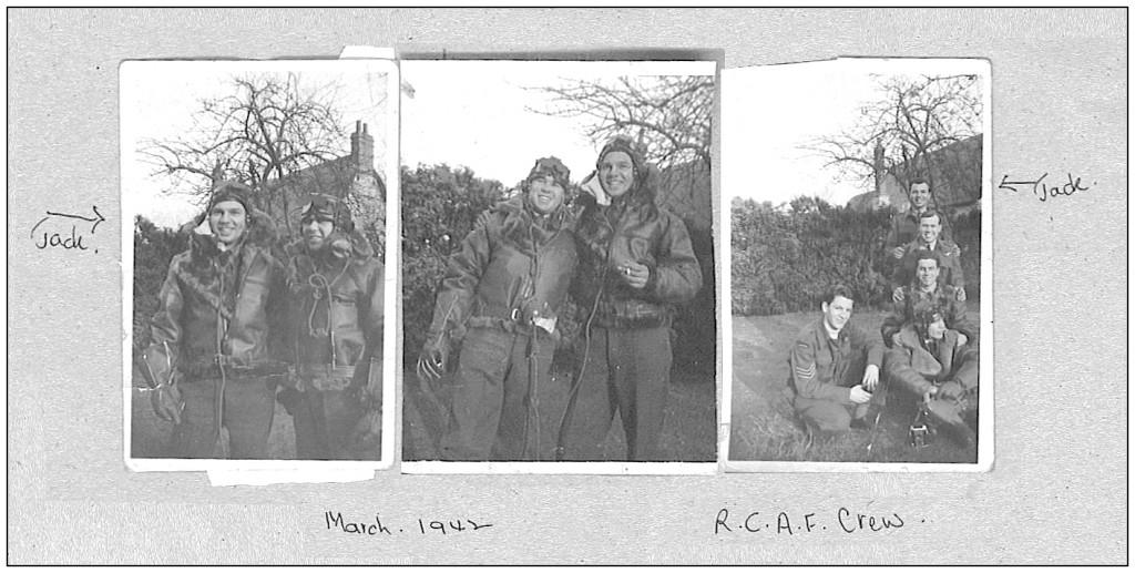 Radio Operator en boordschutter Jack Edward Gibbs in maart 1942.