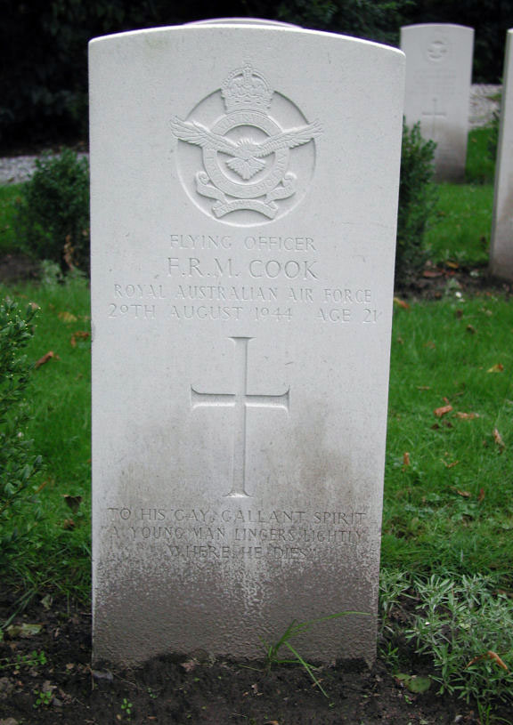 Cook, FO Frank - 229 Sqn 29aug44