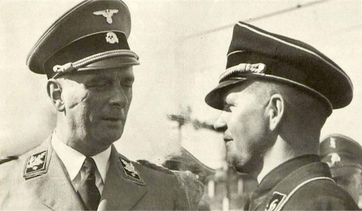 De Duitse leider van de SS in Nederland, Hanns Albin Rauter (Klagenfurt, 4 februari 1895 – Scheveningen, 25 maart 1949)