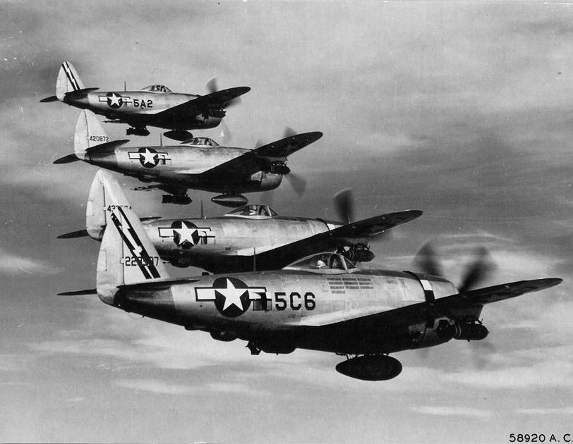 P-47 345FS 350FG 12thAirforce