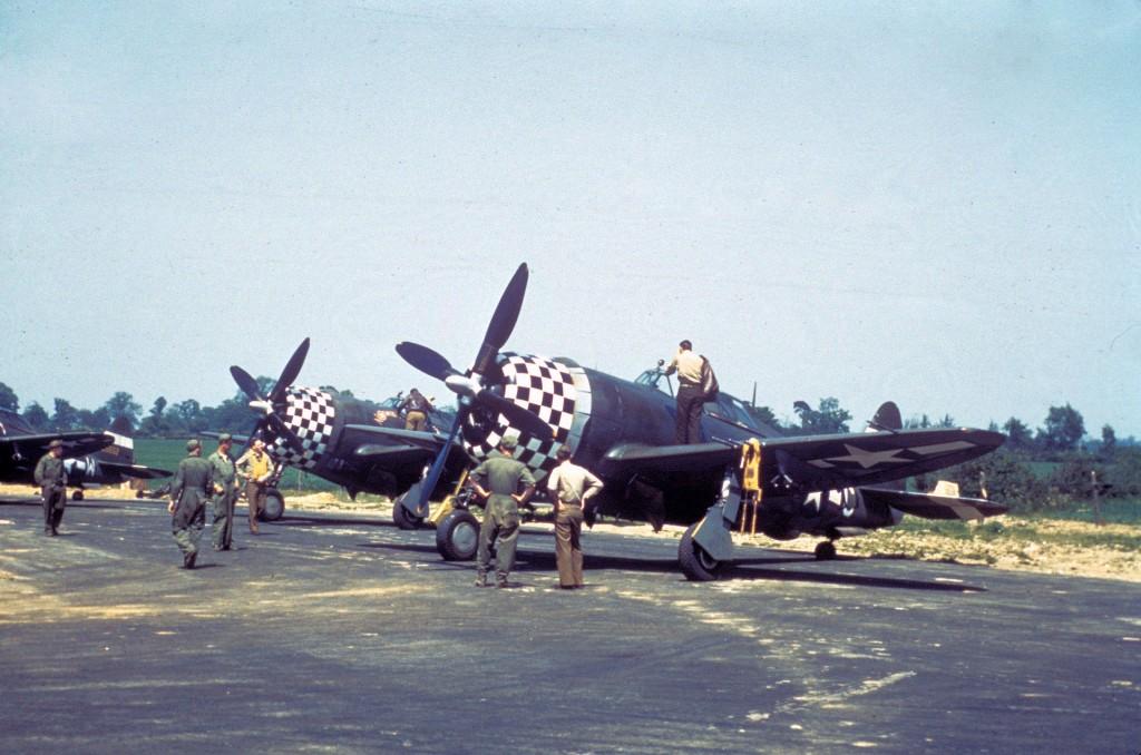 P-47 78FG Duxford 1944