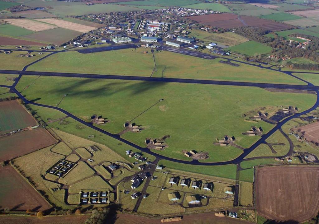 Vliegveld RAF Coltishall staat op de nominatie om als monument bewaard te worden.