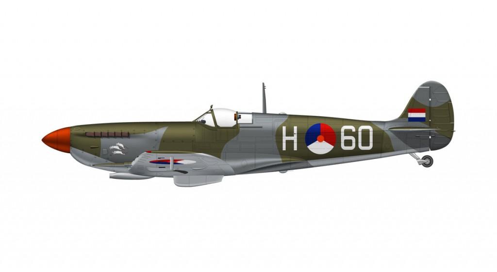 Spitfire Mk.IX Dutch Air Force