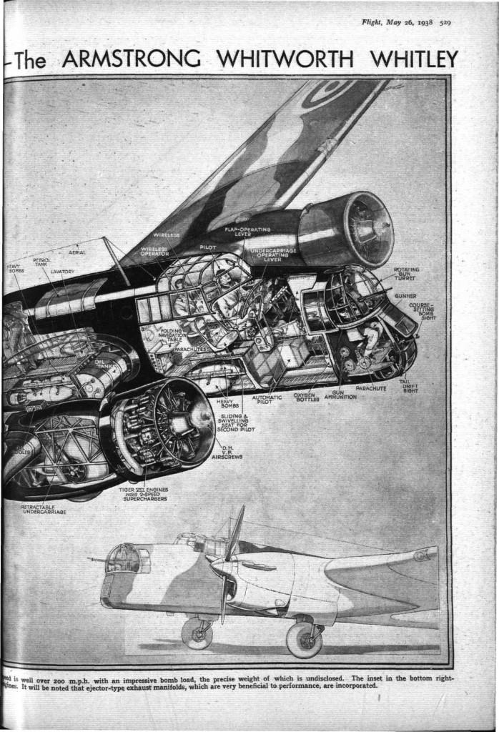 flight 1938 - 1537 met 3d tekening whitleyHH